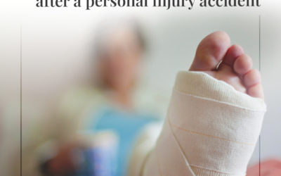 Tips for getting back to work after a personal injury accident