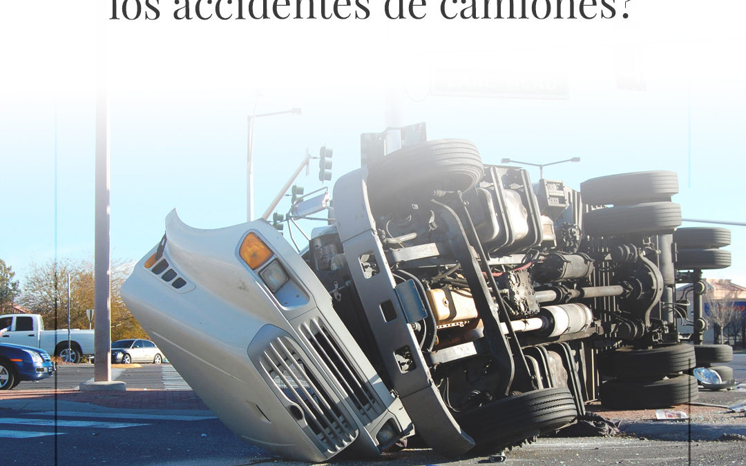 What causes most truck accidents?